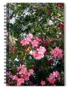 Pink Oleanders Spiral Notebook