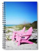 Pink Paradise Vanilla Pop Spiral Notebook