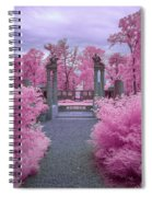 Pink Path To Paradise Spiral Notebook