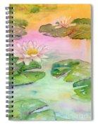 Pink Pond Spiral Notebook