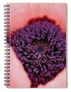 Pink Poppy Soul Spiral Notebook