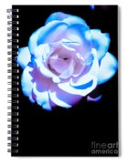 Pink Rose Has The Blues Spiral Notebook