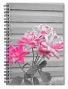Pink Rose Tree Pop Spiral Notebook