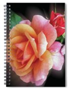 Pink Roses Spiral Notebook