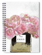 Pink Scented Spiral Notebook