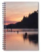 Pink Serenity Spiral Notebook