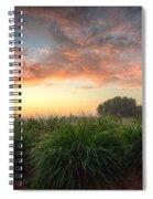 Pink Sunrise Spiral Notebook