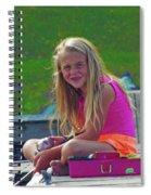 Pink Tackle Box Spiral Notebook
