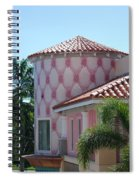 Pink Tower Spiral Notebook