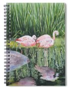 Pink Trio Spiral Notebook