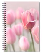 Pink Tulip Cloud Spiral Notebook