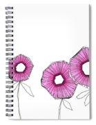 Pink Up Spiral Notebook