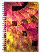 Pink Windows Spiral Notebook