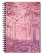 Pink Woods Spiral Notebook