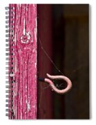 Pinked In Spiral Notebook