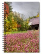 Pinks In The Pasture Spiral Notebook