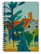 Pinkys House On Pemaquid Point Spiral Notebook