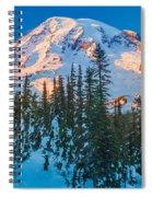 Pinnacle Saddle Winter Spiral Notebook