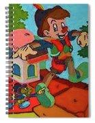 Pinocchio Spiral Notebook