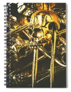 Pins Of Horror Fashion Spiral Notebook