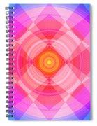 Pinwheel In Motion Spiral Notebook