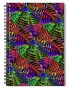 Pinwheel Red Spiral Notebook