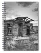 Pioneer Home - Nevada City Ghost Town Spiral Notebook