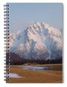 Pioneer Peak Alaska Spiral Notebook