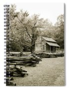Pioneers Cabin Spiral Notebook