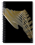 Pipe  Cathedral Spiral Notebook