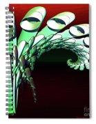 Pipe Curl Spiral Notebook