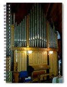 Pipe Organ Of Old Spiral Notebook