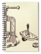 Pipe Vise Spiral Notebook