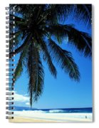 Pipeline Beach Spiral Notebook