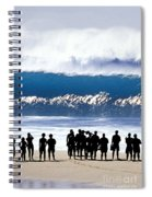 Pipeline Shadowland - 1 Of 3 Spiral Notebook