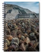 Piramide De La Luna Spiral Notebook
