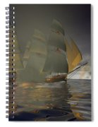 Pirate Attack Spiral Notebook