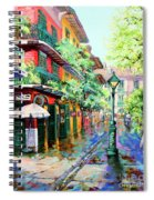 Pirates Alley - French Quarter Alley Spiral Notebook