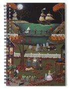 Pirate's Cove Halloween Spiral Notebook