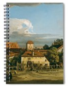 Pirna. The Obertor From The South Spiral Notebook
