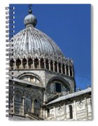 Pisa Cathedral Dome Spiral Notebook
