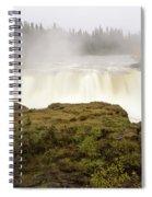 Pisew Falls Northern Manitoba Canada Spiral Notebook