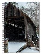 Pisgah Covered Bridge - Modern Spiral Notebook