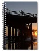 Pismo Beach Pier California 2 Spiral Notebook