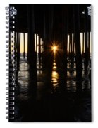 Pismo Beach Pier California 7 Spiral Notebook