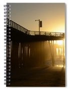Pismo Beach Pier California 8 Spiral Notebook