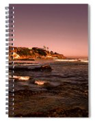 Pismo Beach Sunset Spiral Notebook