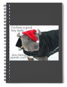 Pit Bull Christmas Two Spiral Notebook
