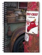 Pit Stop Spiral Notebook