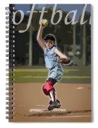 Pitcher Spiral Notebook